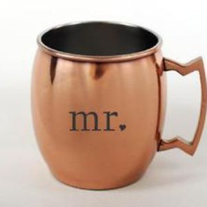 Other - Mr. and Mrs. copper mugs